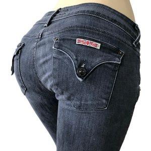 Hudson Jeans Skinny Flap Pocket W422DCN Grey